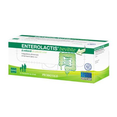 ENTEROLACTIS 12 FLACONCINI 10 ML vendita online, farmacia