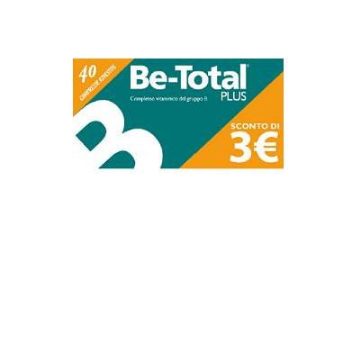 BE-TOTAL 40 COMPRESSE PROMOZIONE vendita online, farmacia